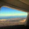Baja AirVentures Return Flight to San Diego, Passenger Enjoying View