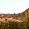 Las Animas Wilderness Lodge, Yurt in Desert Landscape