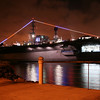 Midway Aircraft Carrier Museum, Night View