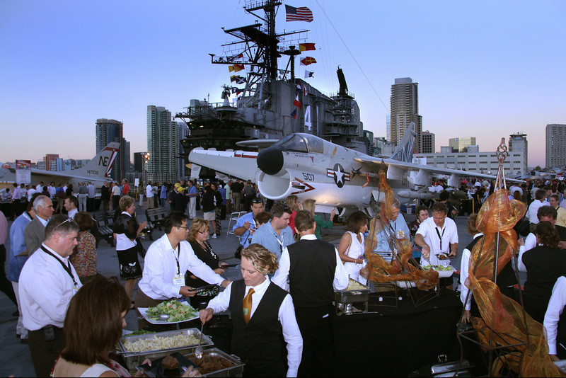 Midway Aircraft Carrier Museum, Convention Event