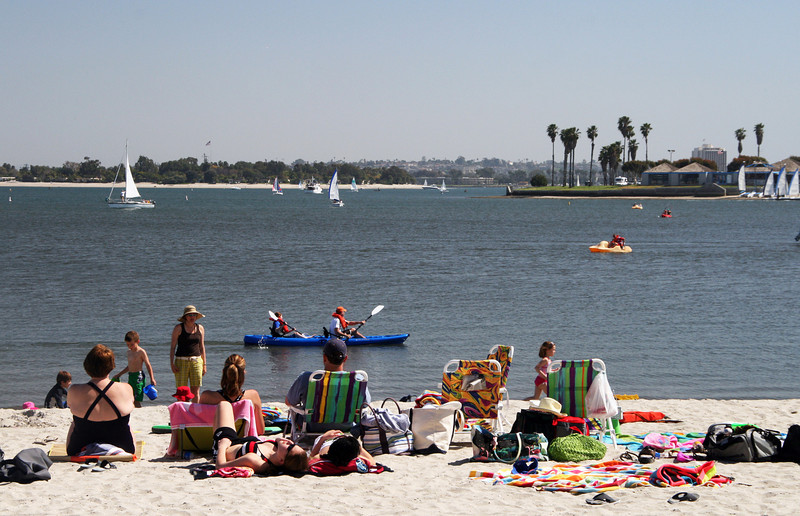 Mission Bay, Fun in the Sun