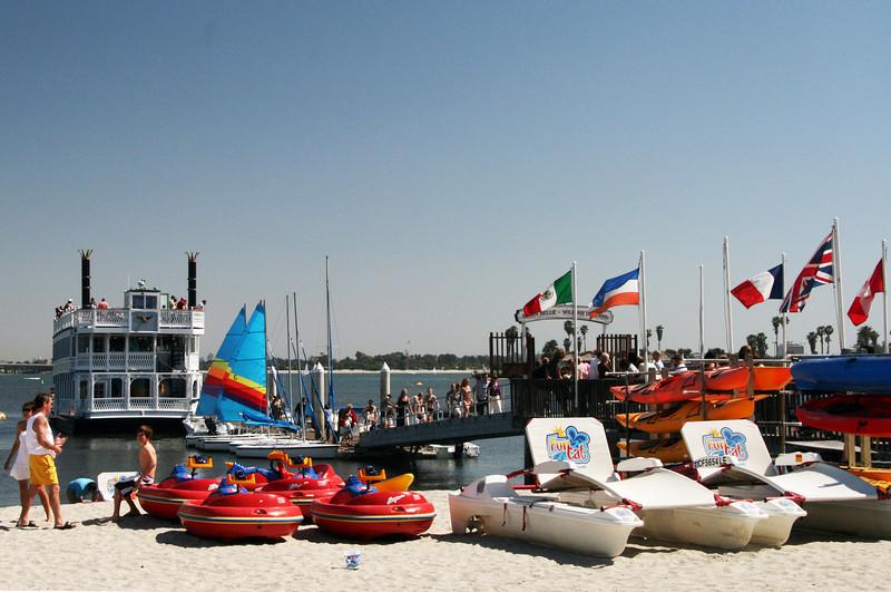 Mission Bay, Boating Fun