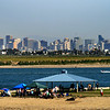 Mission Bay, Picnic on Bay with San Diego Skyline