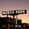North Park, Sign & Theatre