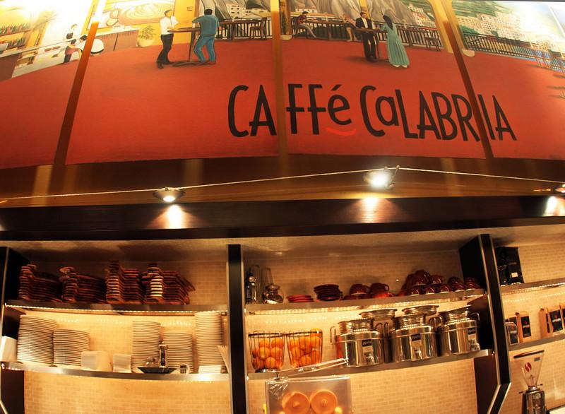 North Park, Caffe Calabria Interior