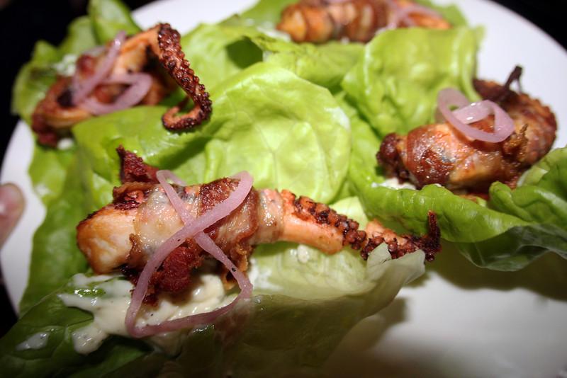 North Park, Linkery Restaurant, Octopus Wrap