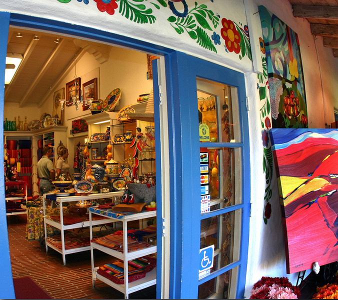 Old Town San Diego, Colorful Shop