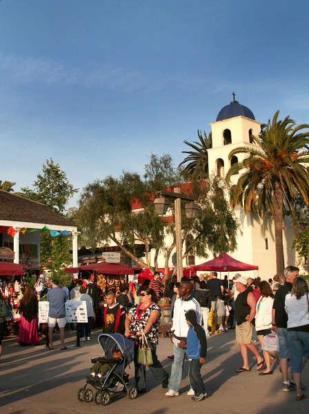 Old Town San Diego, Strollers