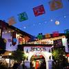 Old Town San Diego, Bazaar del Mundo with Full Moon