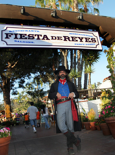 Old Town San Diego, Costumed Historical Figure