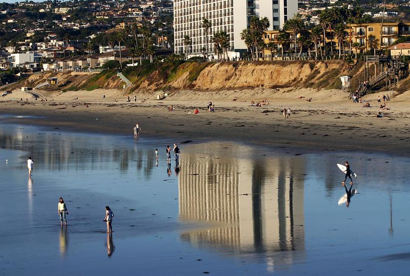 Pacific Beach San Diego, Beach Reflections
