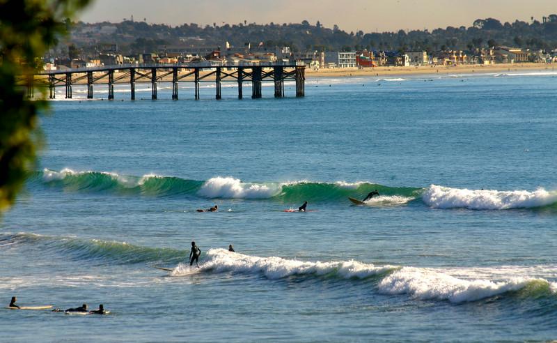 Pacific Beach San Diego, Surfers, North Beach