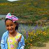 Girl posting, Valley Lake Hemet
