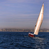 Sailing, Sunset Sail with San Diego Skyline