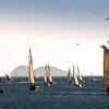 Sailing, Sailsboats with View of Coronado Islands