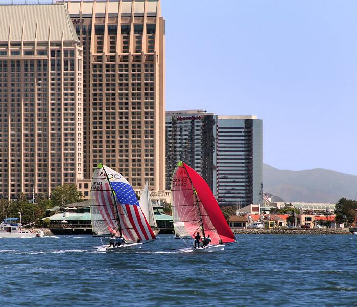 Sailing, San Diego Bay