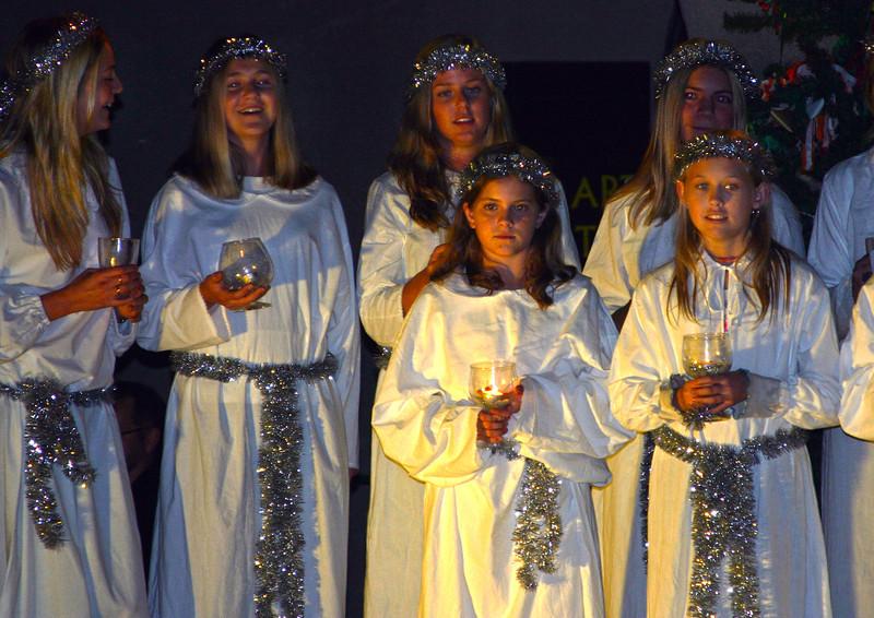 Santa Lucia Procession, Balboa Park, San Diego