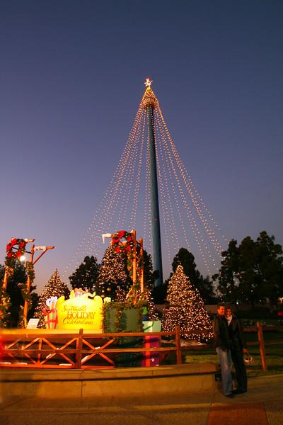 San Diego for the Holidays, SeaWorld Tree