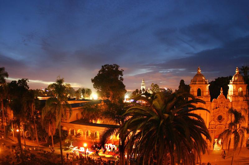 Balboa Park, December Nights View