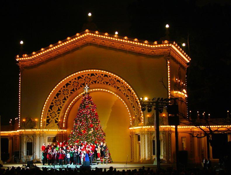 San Diego for the Holidays, Balboa Park, Organ Pavilion Concert