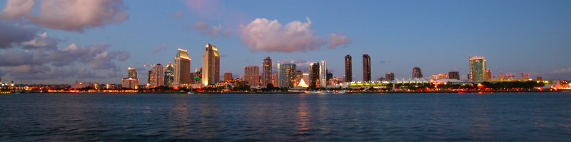 San Diego for the Holidays, Holiday Skyline Panorama