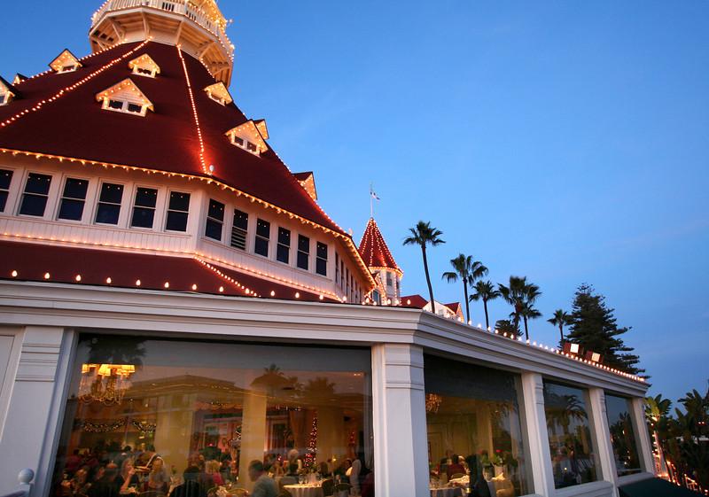 Hotel del Coronado, Christmas Dinner