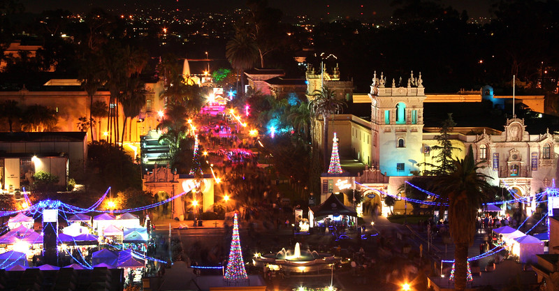 San Diego for the Holidays, December Nights, Balboa Park