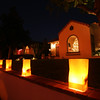 San Diego for the Holidays, Luminarias, San Diego Kensignton Neighborhood