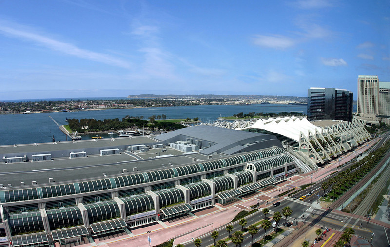 SD Convention Center, Wide Angle View