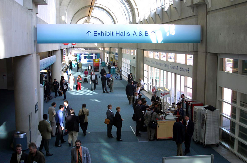 SD Convention Center,  Exhibit Hall