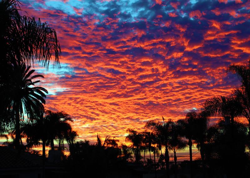 San Diego Winter Sunset