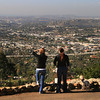 View from Mt. Helix, Walkers with Dog