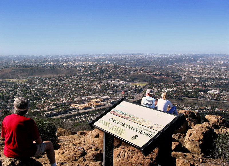 View on San Diego from Cowles Mountain