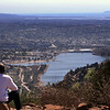 View on Lake Murray from Cowles Mountain
