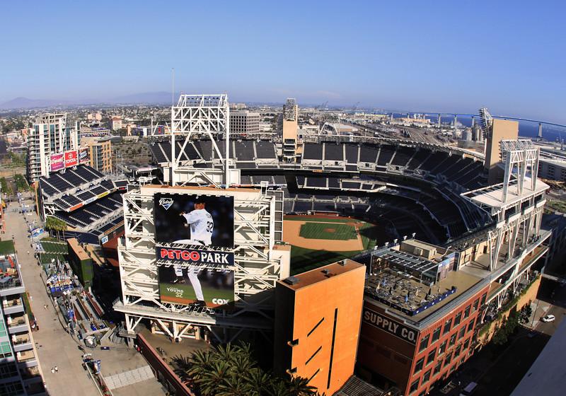 San Diego Downtown, View on Petco Park