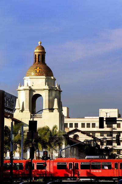San Diego Downtown, Santa Fe Train Station