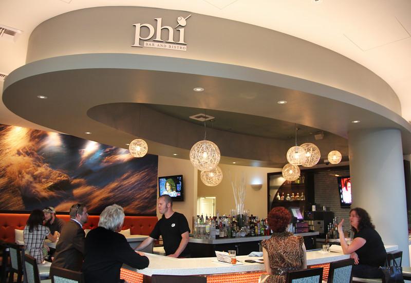 San Diego Downtown, Phi Bar in Hotel Indigo