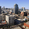 San Diego Downtown, View on City & Solarmar Rooftop Bar & Pool
