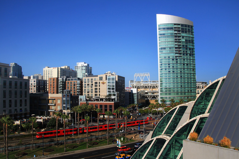 San Diego Downtown, View from San Diego Convention Center
