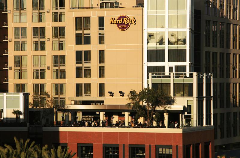 San Diego Downtown, Hard Rock Hotel Patio