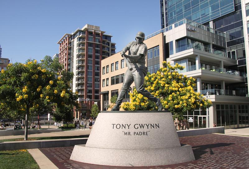 San Diego Downtown, Tony Gwynn Statue, East Village