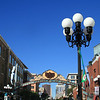 San Diego Downtown, Gaslamp Quarter Sign