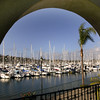 Shelter Island, Marina through Arch