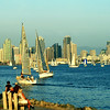 Harbor Island, Golden View on San Diego Skyline