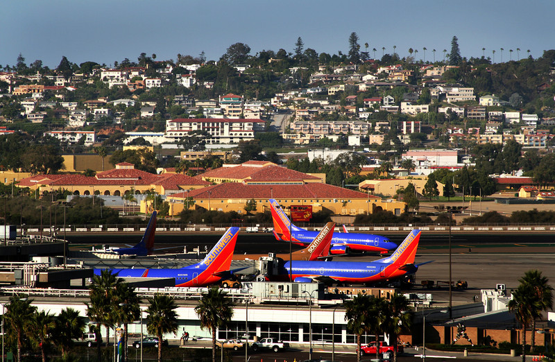 San Diego International Airport, Southwest Airlines Hub