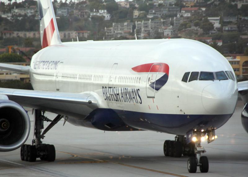 San Diego International Airport, British Airlines