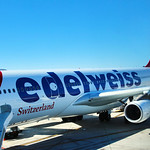 Edelweiss Airlines, Airbus A340 in San Diego