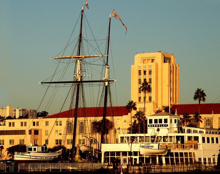 San Diego Maritime Museum, County Administration Building