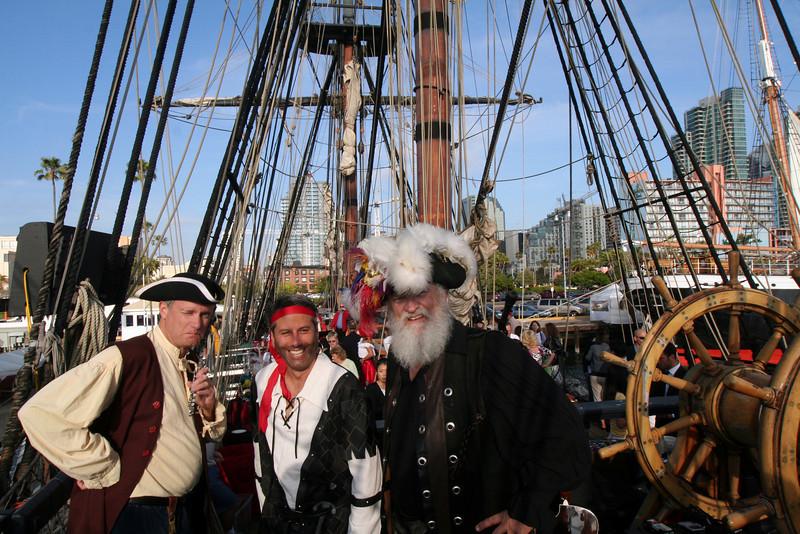 Pirates on Board HMS Surprise
