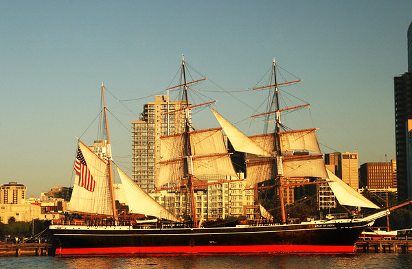 Maritime Museum, Star of India & Embarcadero